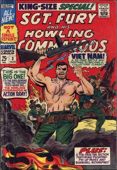 Sgt. Fury and His Howling Commandos Annual 3-A by Marvel