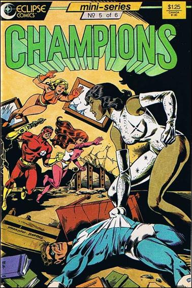 Champions (1986) 5-A by Heroic Publishing