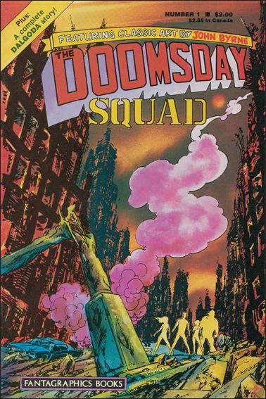 Doomsday Squad 1-A by Fantagraphics