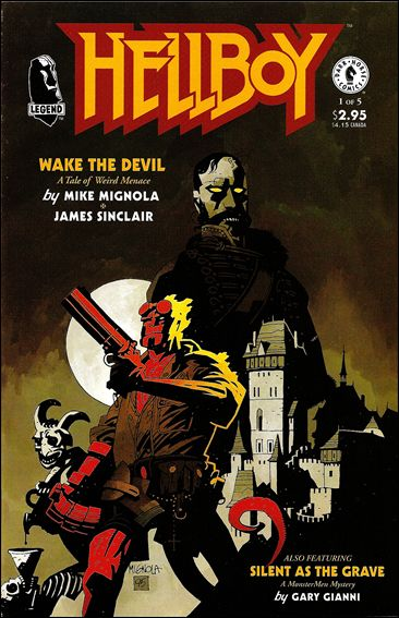 Hellboy: Wake the Devil 1-A by Dark Horse