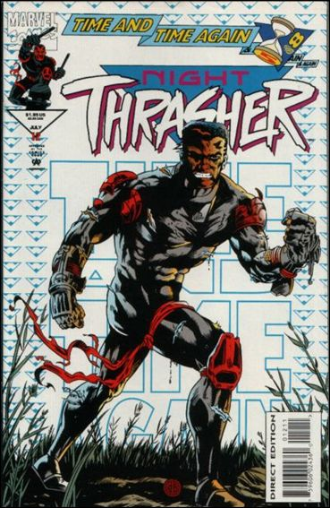 Night Thrasher 12-A by Marvel
