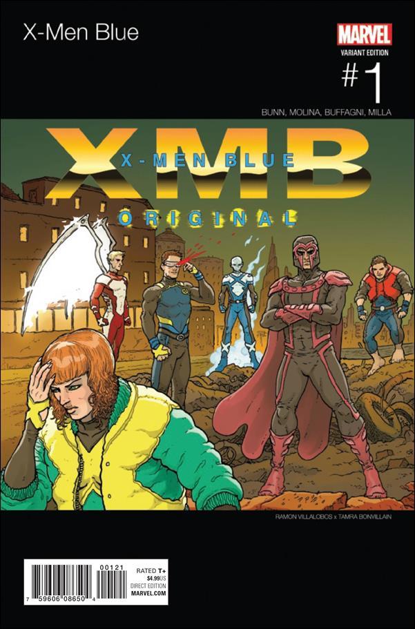 X-Men: Blue 1-B by Marvel