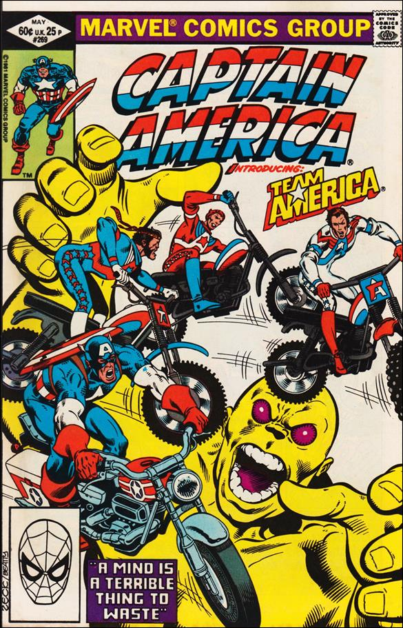 Captain America (1968) 269-A by Marvel