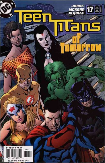Teen Titans (2003) 17-A by DC