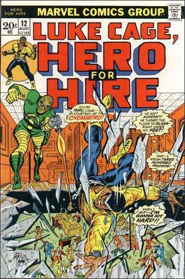 Hero for Hire 12-A by Marvel