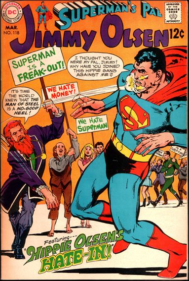 Superman's Pal Jimmy Olsen 118-A by DC