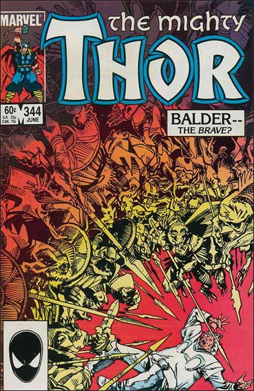 Thor (1966) 344-A by Marvel