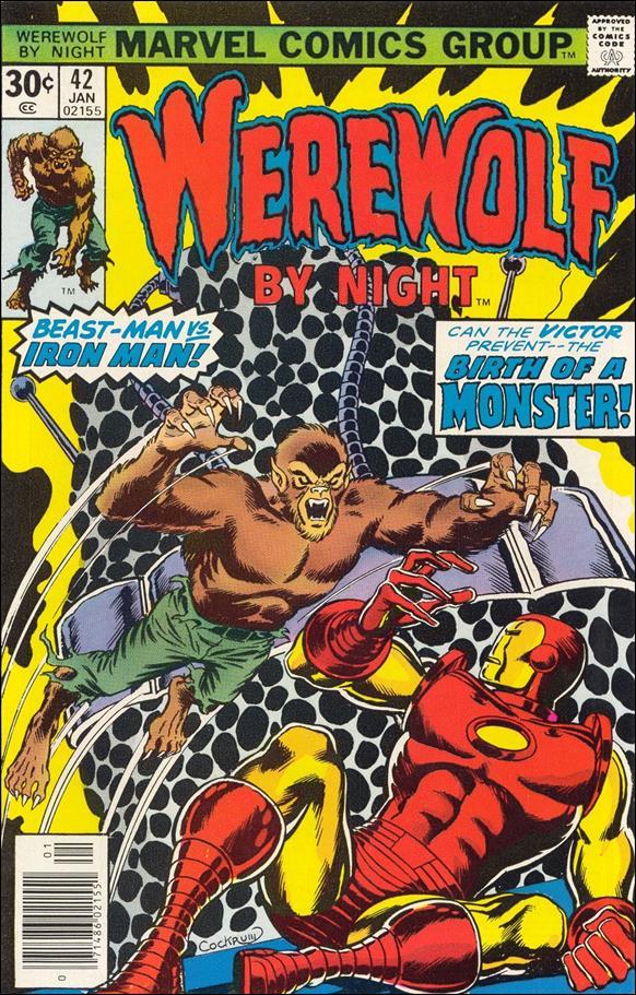 Werewolf by Night (1972) 42-A by Marvel