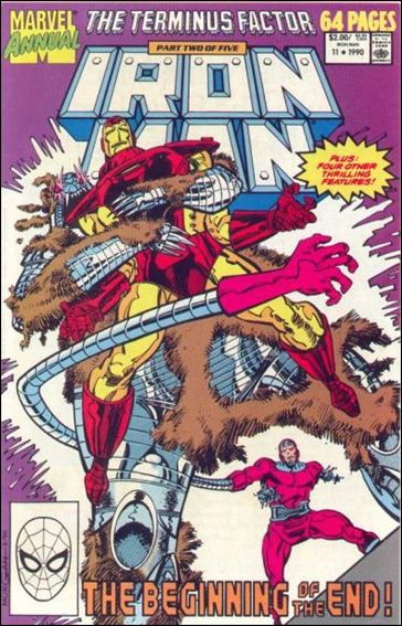 Iron Man Annual 11-A by Marvel