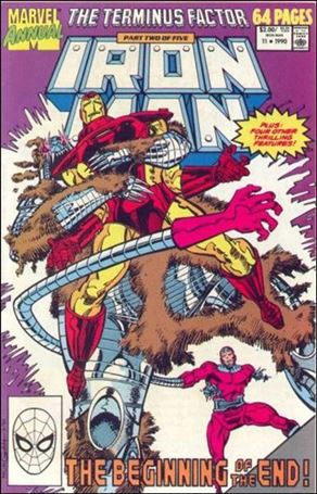 Iron Man Annual (1970) 11-A