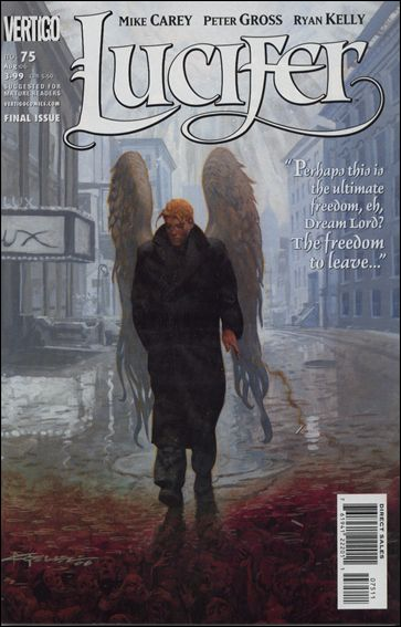 Lucifer (2000) 75-A by Vertigo