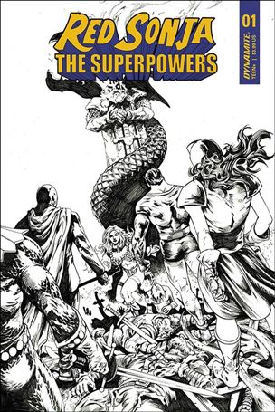 Red Sonja: The Superpowers 1-K