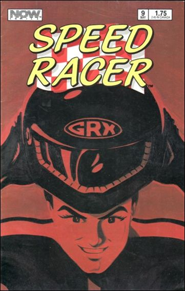 Speed Racer (1987) 9-A by Now Comics