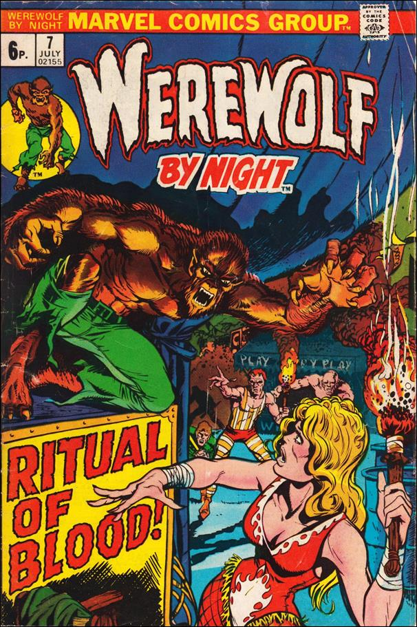 Werewolf by Night (1972) 7-B by Marvel