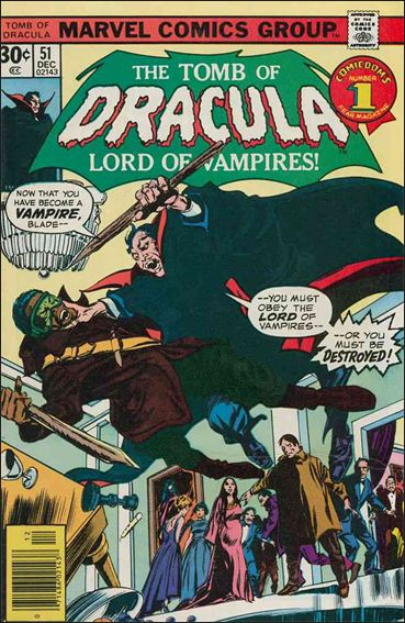 Tomb of Dracula (1972) 51-A by Marvel