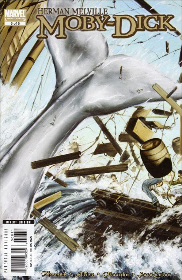 Marvel Illustrated: Moby Dick 6-A by Marvel