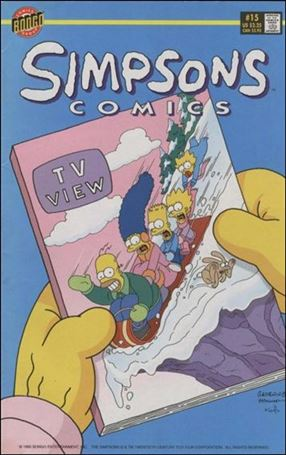 Simpsons Comics 15-A