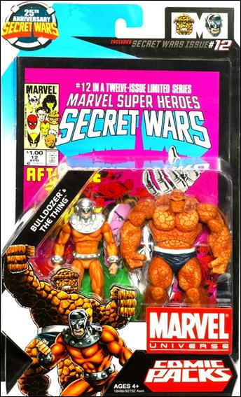 Marvel Universe: Secret Wars (Comic-Packs) Bulldozer and The Thing by Hasbro
