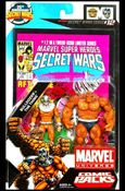 Marvel Universe: Secret Wars (Comic-Packs) Bulldozer and The Thing