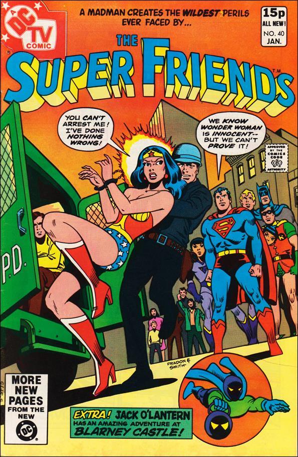 Super Friends (1976) 40-B by DC