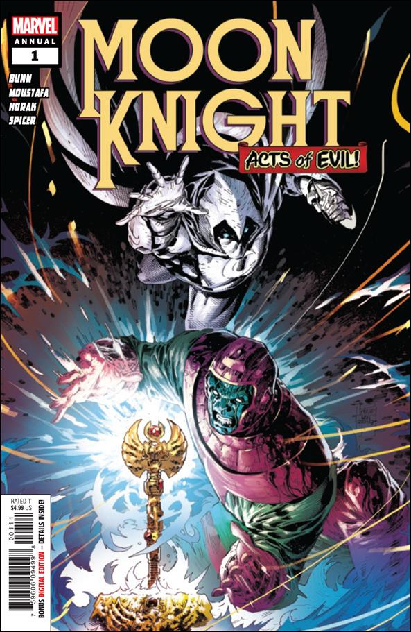 Moon Knight Annual (2019) 1-A by Marvel