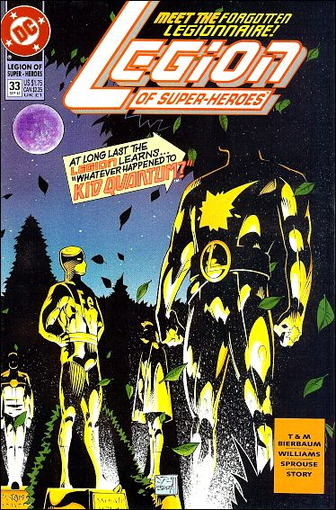 Legion of Super-Heroes (1989) 33-A by DC