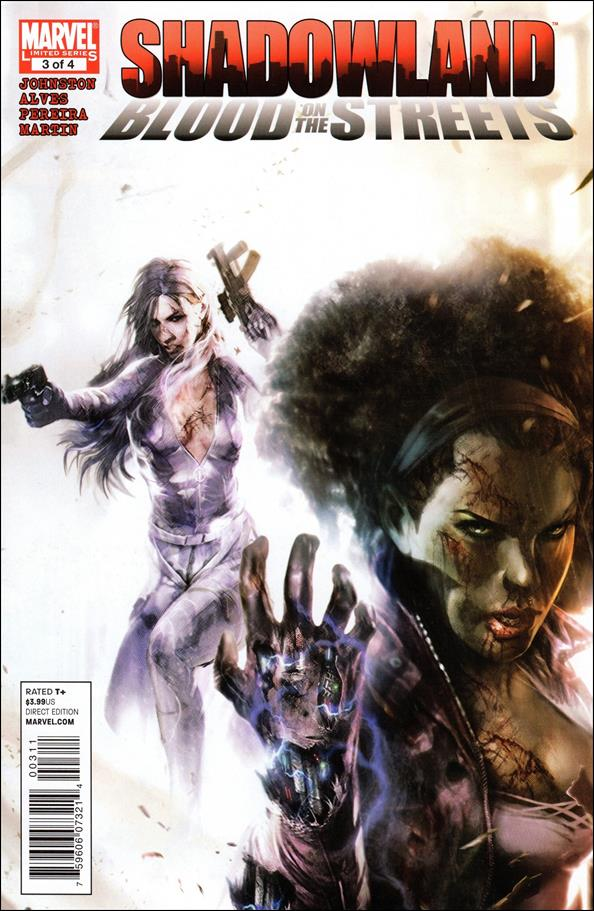 Shadowland: Blood on the Streets 3-A by Marvel