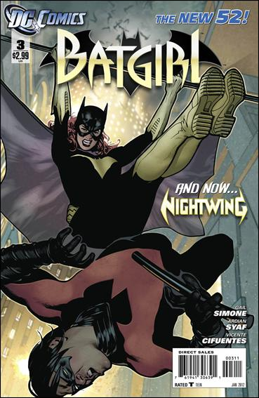 Batgirl (2011) 3-A by DC