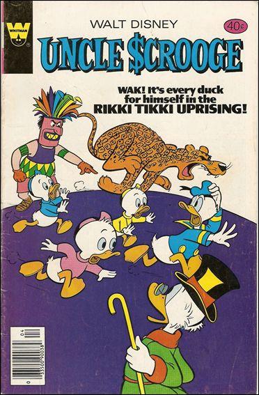 Walt Disney's Uncle Scrooge 163-B by Gemstone