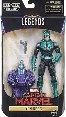 Marvel Legends Series: Captain Marvel (Kree Sentry Series) Yon-Rogg