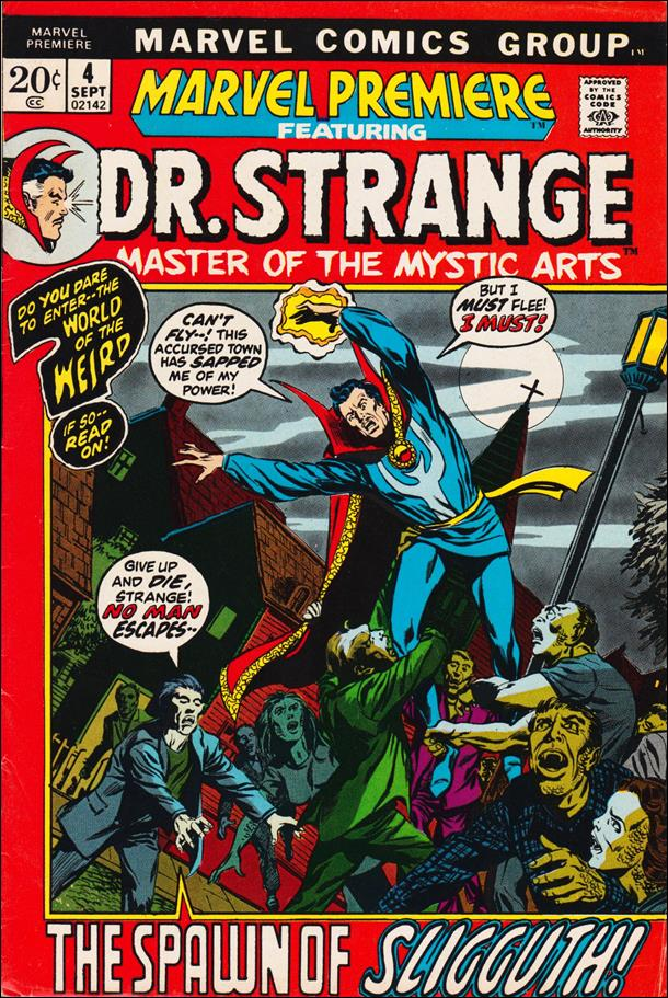 Marvel Premiere 4-A by Marvel