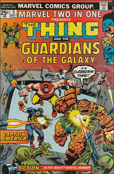 Marvel Two-in-One (1974) 5-A by Marvel