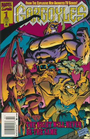 Gargoyles (1995) 1-A by Marvel