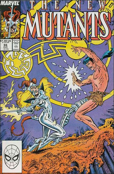 New Mutants (1983) 66-A by Marvel