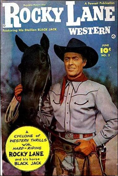 Rocky Lane Western (1949) 2-A by Fawcett