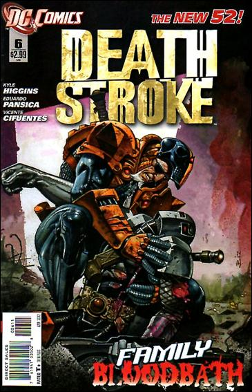 Deathstroke (2011) 6-A by DC