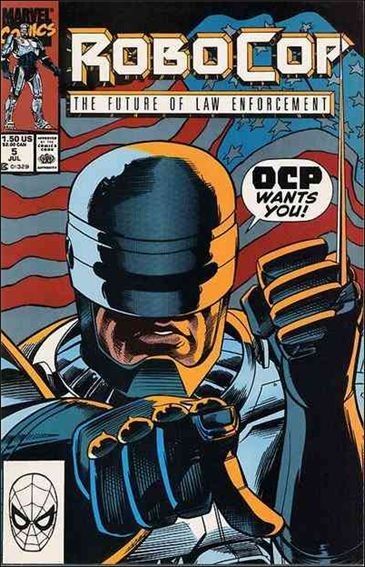 Robocop (1990) 5-A by Marvel