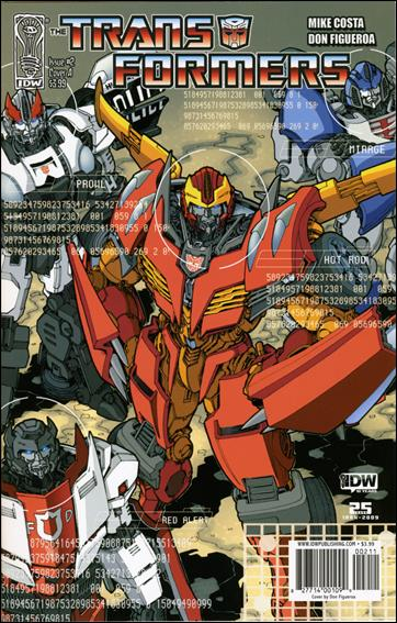 Transformers (2009) 2-A by IDW