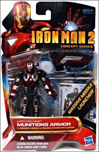 Iron Man 2 War Machine - Munitions Armor (Concept Series) by Hasbro