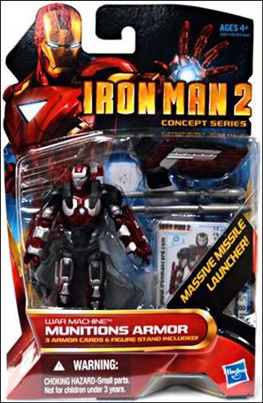 Iron Man 2 War Machine - Munitions Armor (Concept Series)