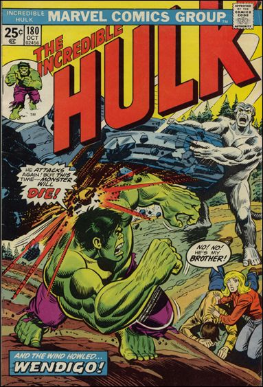 Incredible Hulk (1968) 180-A by Marvel