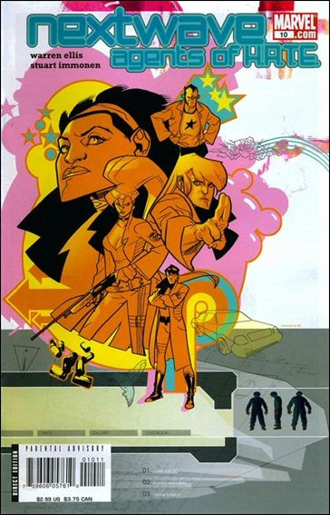 Nextwave: Agents of H.A.T.E. 10-A by Marvel