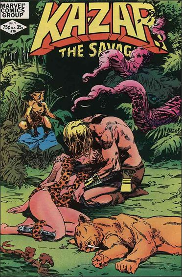 Ka-Zar the Savage 16-A by Marvel