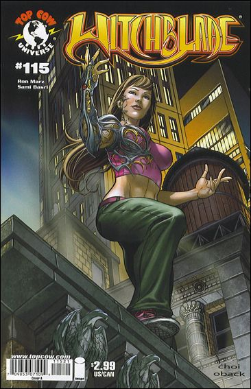 Witchblade 115-A by Top Cow