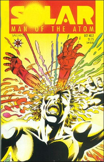 Solar, Man of the Atom (1991) 2-A by Valiant