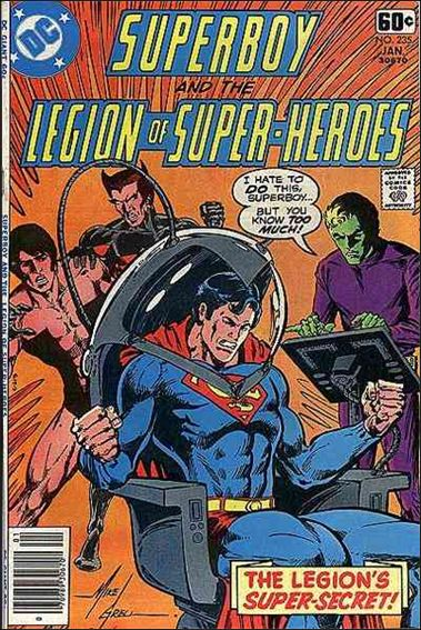 Superboy and the Legion of Super-Heroes 235-A by DC