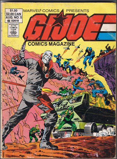 G.I. Joe: Comics Magazine 5-A by Marvel