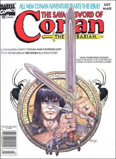 Savage Sword of Conan (1974) 207-A by Marvel