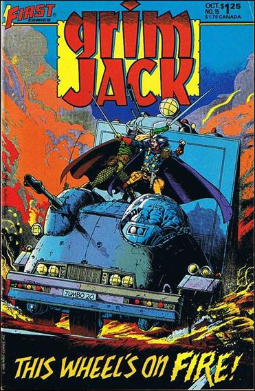 Grimjack 15-A by First