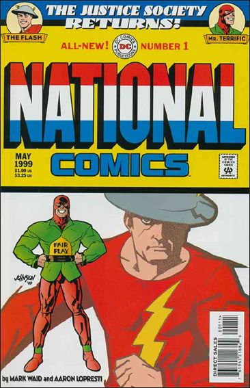 National Comics (1999) 1-A by DC